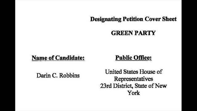 Petition Controversy in 23rd District Race