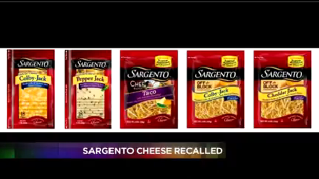 Sargento, Meijer recall cheese due to possible Listeria contamination