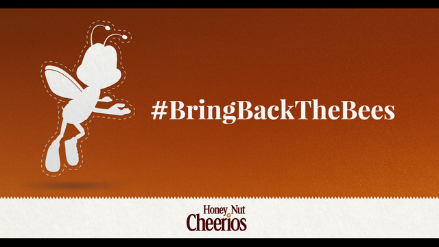 Cheerios launches campaign to help 'bring back the bees'