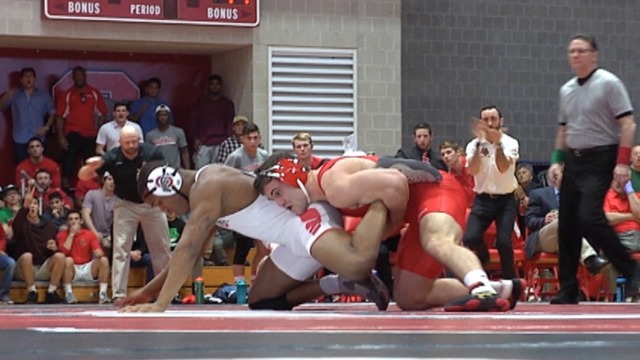 Cornell Wrestler Gabe Dean Defeated by Penn State's Bo Nickal in NCAA Finals 4-3