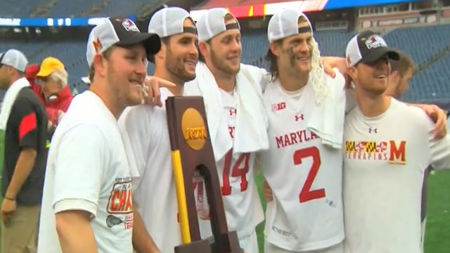 Maryland beats Ohio St. 9-6 in NCAA lacrosse championship