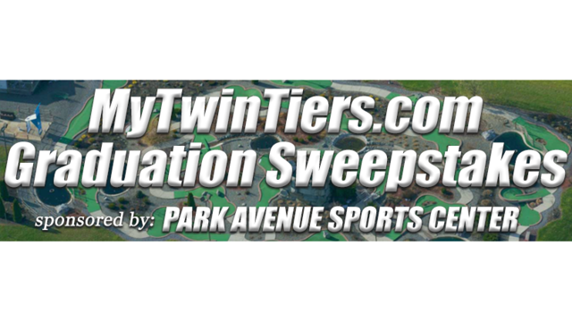 CONTEST ENDED: MyTwinTiers Graduation Sweepstakes sponsored by Park Avenue Sports Center!