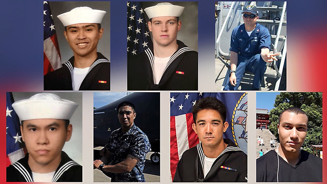 Missing Fitzgerald sailors found in flooded compartments