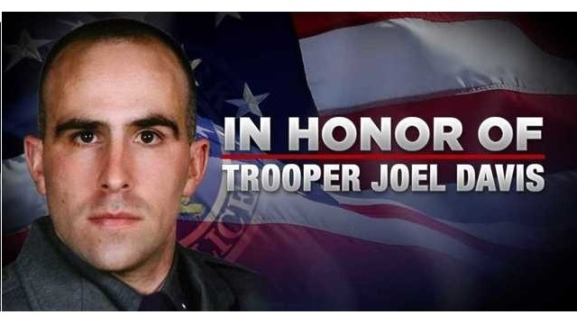 Large police contingent expected at slain trooper's funeral
