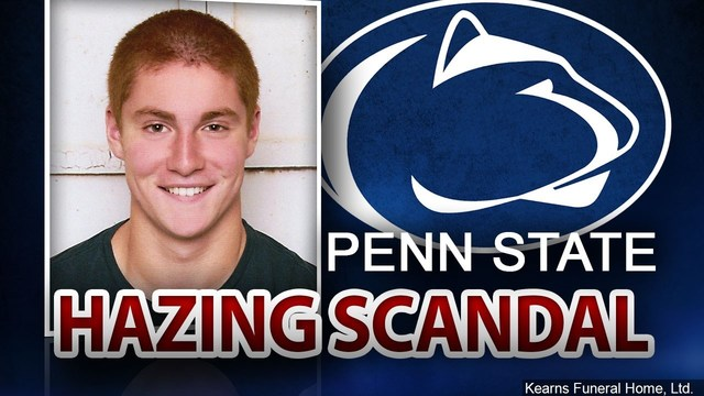Manslaughter charges dropped in death of Penn State fraternity pledge