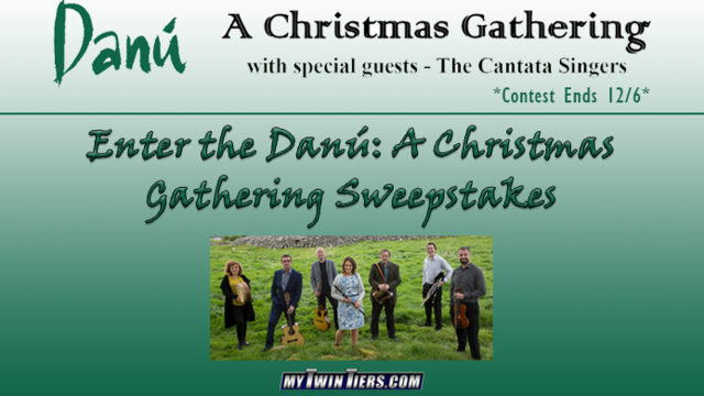 CONTEST ENDED: The Danú: A Christmas Gathering Sweepstakes!