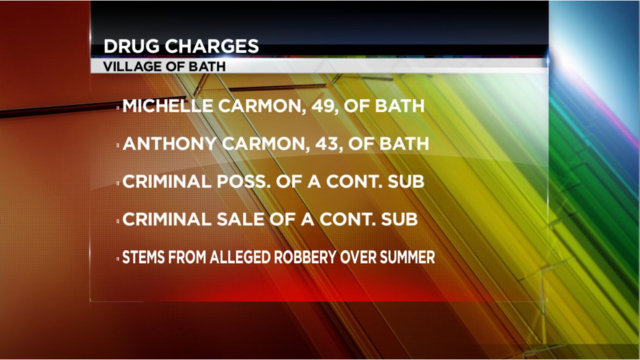 Bath Couple Facing Drug Charges