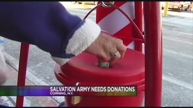 Salvation Army In Springfield Behind On Campaign Goal
