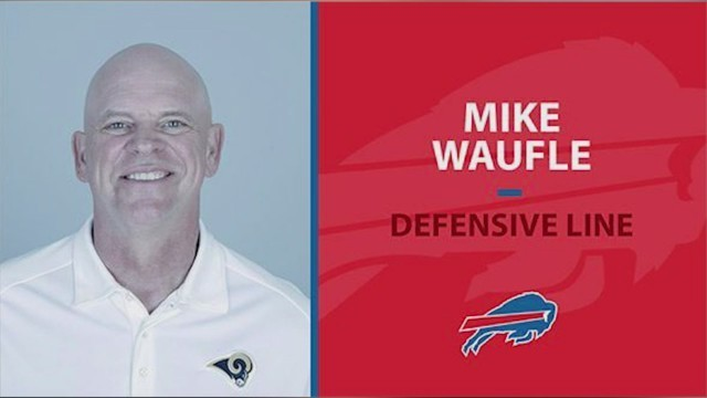Bills DL coach Mike Waufle announces retirement