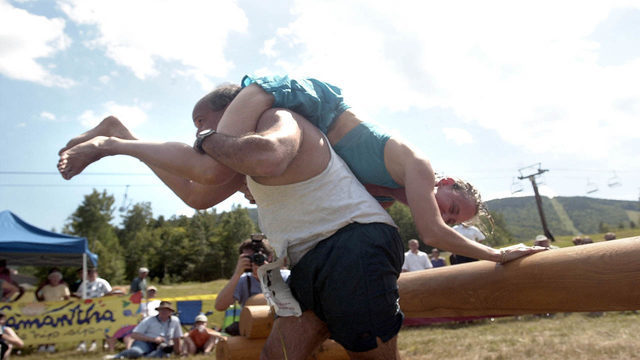 Virginia couple wins North American Wife Carrying Championship