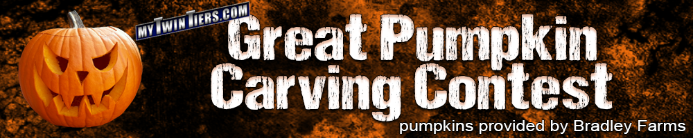 MyTwinTiers.com Great Pumpkin Carving Contest Header