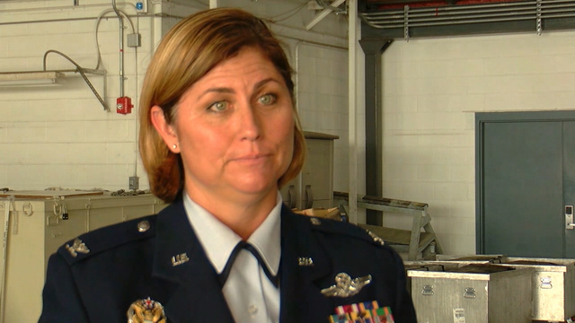 Col. Michele Kilgore becomes first woman to command 109th Airlift Wing