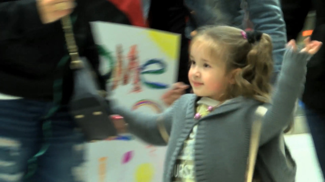 Family welcomes missing 5 year old home after being abducted