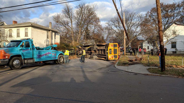 No injuries in bus accident on East Washington Avenue