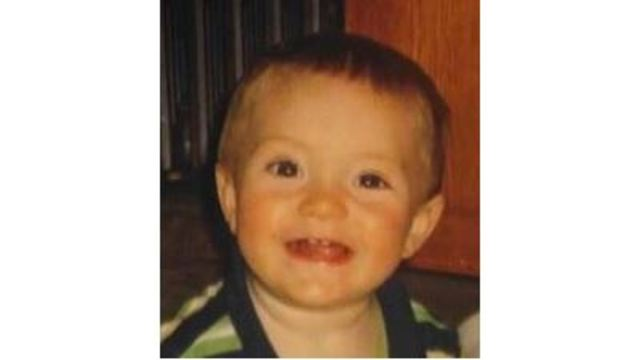 Search for missing one-year-old