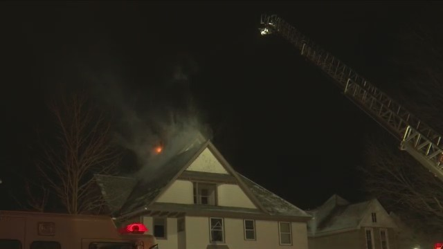 Structure fire in Elmira displaces residents from home