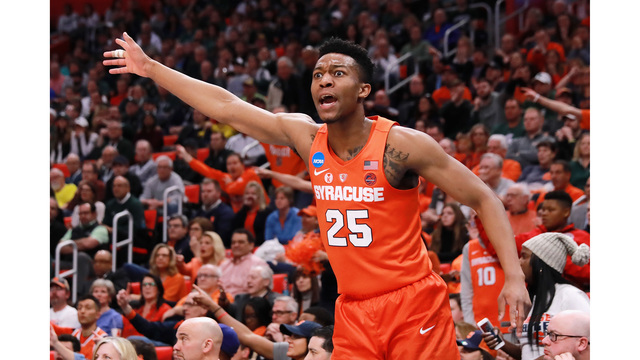 SU upsets Michigan State 55-53, advances to face Duke in the Sweet 16