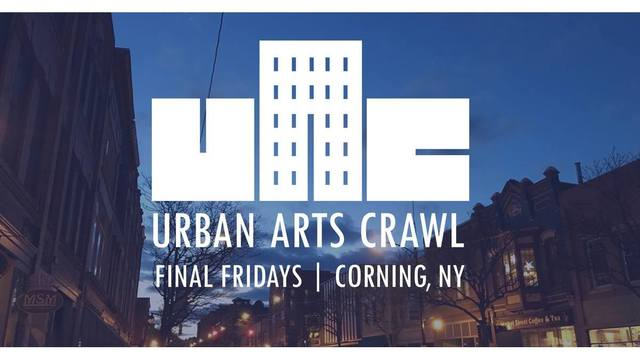 Corning's Urban Arts Crawl will continue through summer months