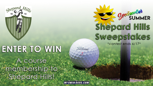 CONTEST ENDED: The Spectacular Summer Shepard Hills Sweepstakes!