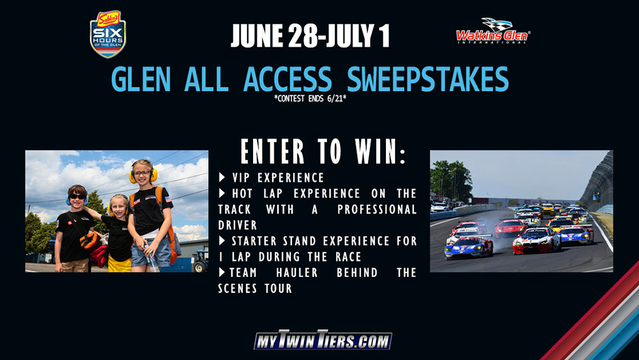 CONTEST ENDED: the Glen All Access 2018 Sweepstakes!