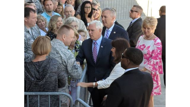 Vice President Mike Pence visits Katko campaign fundraiser in Syracuse, stops at Auburn business