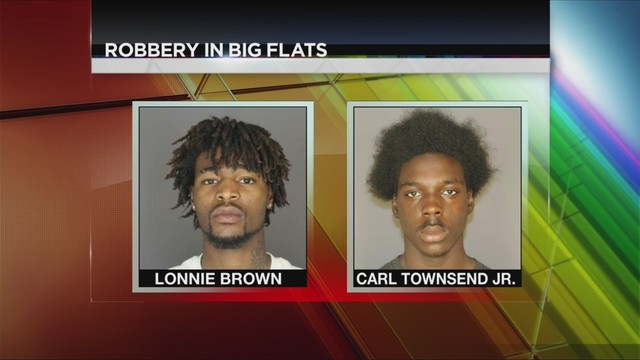Two Elmira Teens Charged With Robbery