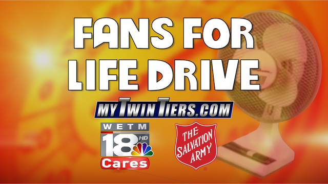 FANS FOR LIFE DRIVE: Helping Our Neighbors During This Heat Wave
