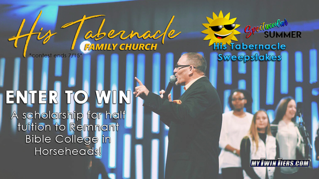 Enter to win the Spectacular Summer His Tabernacle Sweepstakes!