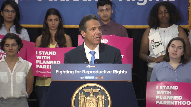 Cuomo calls for special session on abortion rights