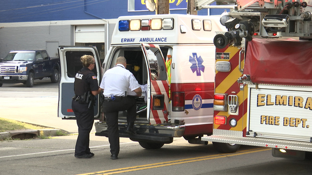 Bicyclist Rushed to Hospital in Elmira