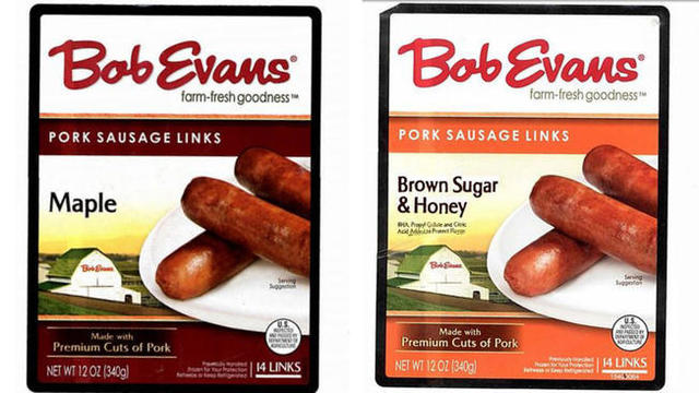 Some Bob Evans sausage links recalled, may contain plastic