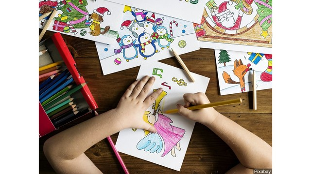 Father outraged over AIDS coloring book child received from school