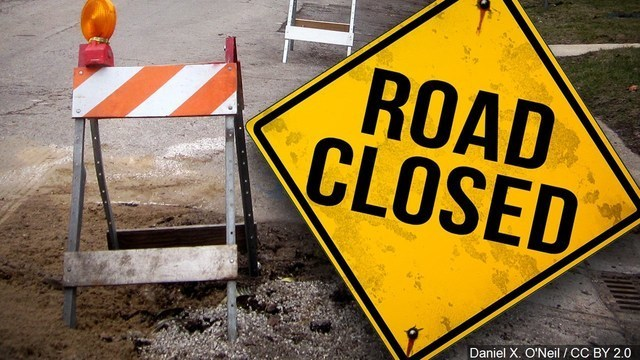 UPDATE: Part of Route 414 Now Closed Due to Landslide