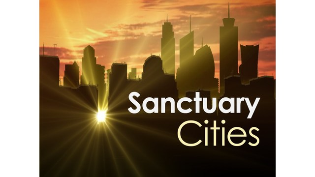 What areas in New York State have sanctuary laws?