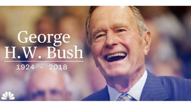 Former President George H.W. Bush is dead at 94