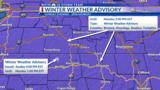 Winter Weather Advisory in effect for the Twin Tiers