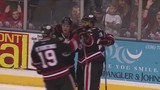 Enforcers fall to Thunderbirds in game two in OT