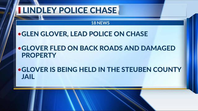 Lindley Police Chase